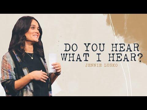 Do You Hear What I Hear?  Jennie Lusko