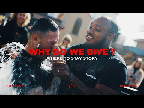 Why Do We Give?  Jacob Koo - A Here To Stay Story