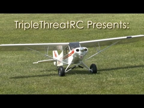 E-flite Super Cub 25e - Second Flight - UCvrwZrKFfn3fxbkpiSIW4UQ