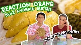 Reaksi Bule Romania nyoba Durian Medan - MAKNYUSSSSS