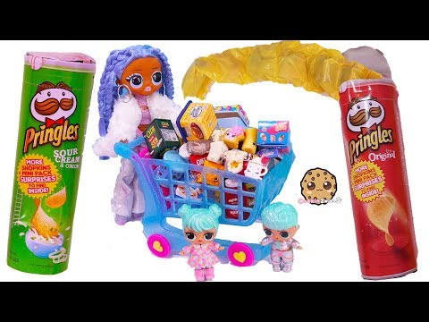 Winter Disco OMG, Big Brother + Sister Grocery Shopping for Shopkins Real Littles - UCelMeixAOTs2OQAAi9wU8-g