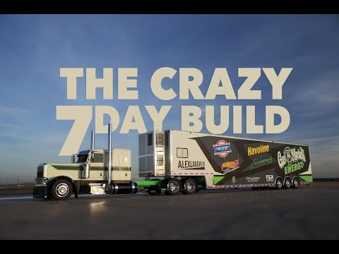 7 days to build the Gas Monkey Energy race hauler for Laughlin Motorsports. - UC3U4EvlScp7fRQYyfII_ZRA
