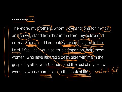 Philippians 4:23 // Part 4 // Why Does It Matter That Their Names Are in the Book of Life?