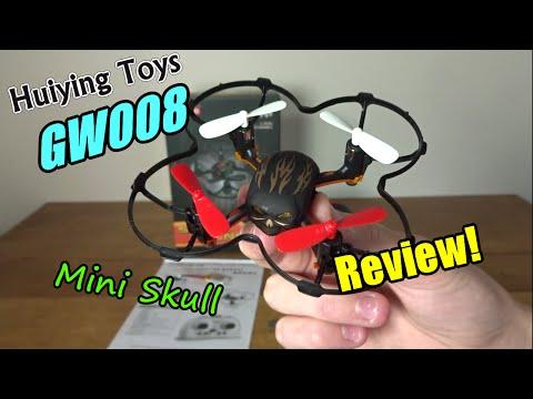 Huiying Toys GW008 Mini Skull Review and Flight - UC2c9N7iDxa-4D-b9T7avd7g