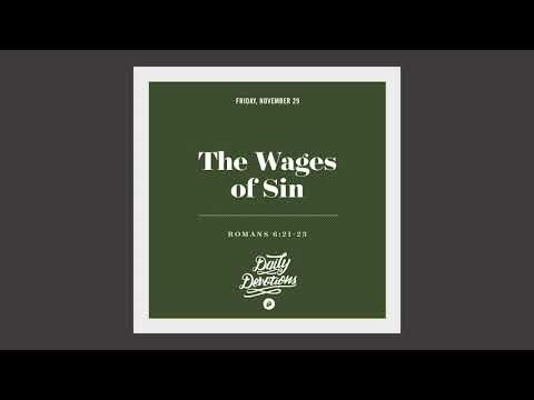 The Wages of Sin - Daily Devotion