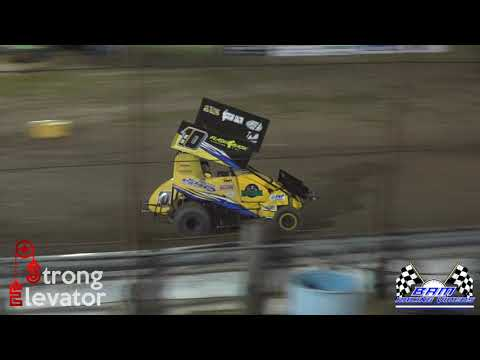 Restricted Feature - Coles County Speedway 5/14/21 - dirt track racing video image