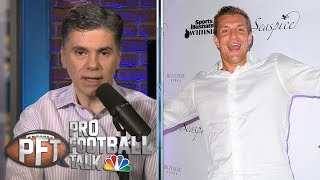 PFT Overtime: Rob Gronkowski looks extremely slim in retirement | Pro Football Talk | NBC Sports