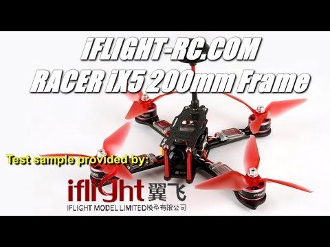 iFlight RACER iX5 200mm Quadcopter Frame Kit Review - UCV57o-UZ3ny_pn5uZTOO5oQ