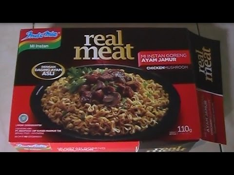 How to Cook Indomie Real Meat