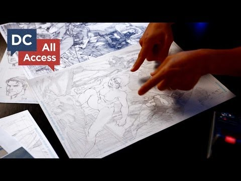 DC All Access - Bonus Clip - Jim Lee on Inspiration and Technique - UCiifkYAs_bq1pt_zbNAzYGg