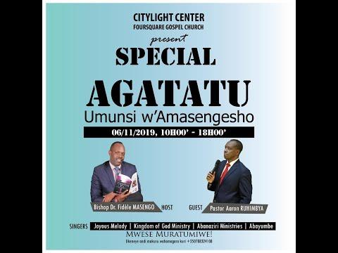 LIVE // FOURSQUARE TV -  AGATATU 06.11.2019