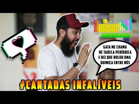 AS CANTADAS MAIS INFALÍVEIS DO MUNDO!!! | ‹Robson Santos›