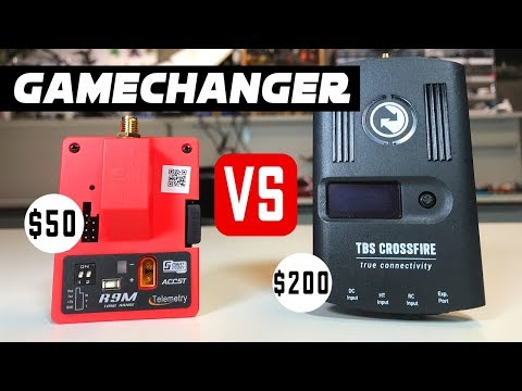 Long Range FPV GAMECHANGER! - $50 Frsky R9M VS. TBS Crossfire Review - UCwojJxGQ0SNeVV09mKlnonA