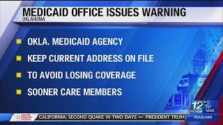 Oklahoma Medicaid Agency Cautions Sooner Care Members