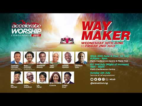 Join us at Accelerate Worship Conference 2021 with Powerful Music Ministers