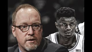 PELICANS GM MAKING A MAJOR MISTAKE COMPARING ZION WILLIAMSON TO DRAYMOND GREEN IN MY OPINION!