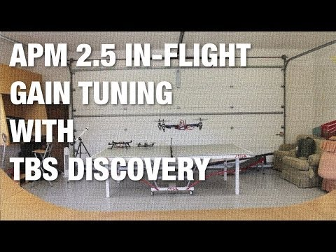 APM 2 5 and ArduCopter 3 0 1 Loiter Setup and Backyard Test