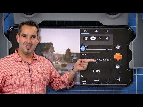 DJI Mavic 2 Pro #22 - Einstellungen Kamera #1 - UCfV5mhM2jKIUGaz1HQqwx7A