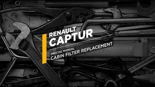 Cambio filtro abitacolo Renault Captur