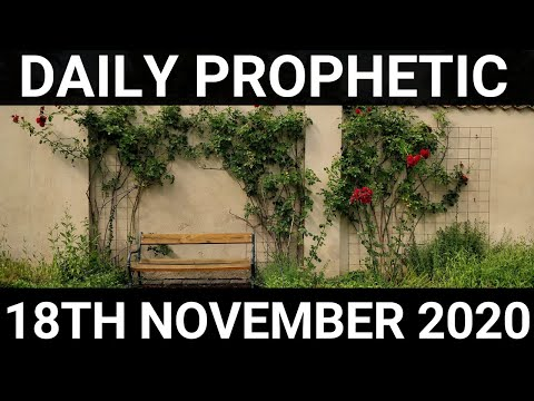 Daily Prophetic 18 November 2020 6 of 12