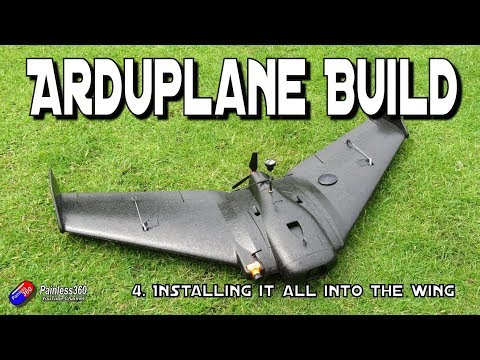ArduPlane/AR Wing/Matek F405-Wing Build: Installing it all into the AR Wing - UCp1vASX-fg959vRc1xowqpw