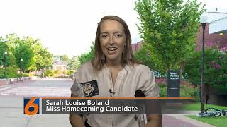 Miss Homecoming Candidate Sarah Louise Boland