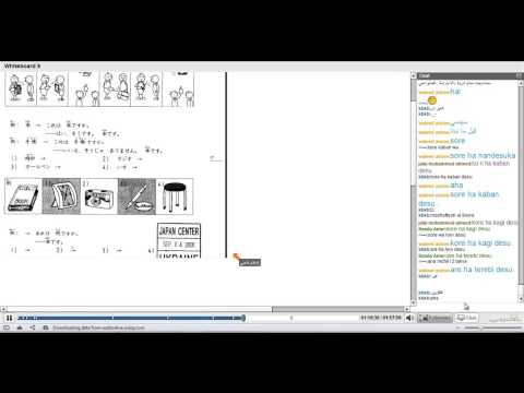 أكاديمية الدارين |اللغة اليابانية |  محاضرة 13