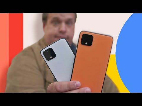 Google Pixel 4 and 4 XL hands-on first impressions - UCOmcA3f_RrH6b9NmcNa4tdg