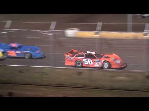 USRA Late Model Feature - Cedar Lake Speedway 06/18/2021 - dirt track racing video image