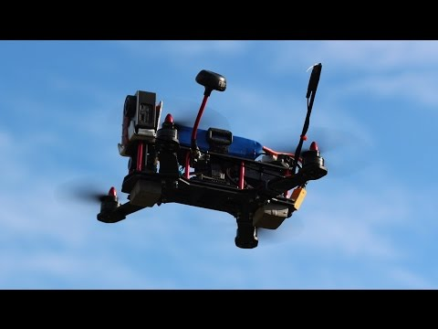ZMR 250 racing Quadcopter, fast flying in tight spaces, with crash - UC0-uIFmVKm_0phT7MQNfY7w