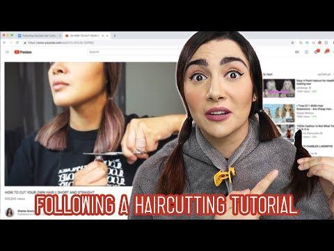 I Tried Following A YouTube Haircut Tutorial - UCbAwSkqJ1W_Eg7wr3cp5BUA