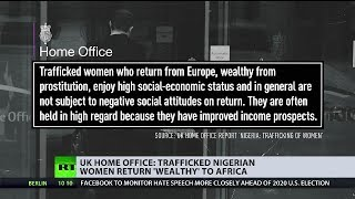 Home Office: Trafficked Nigerian women return 'wealthy' to Africa