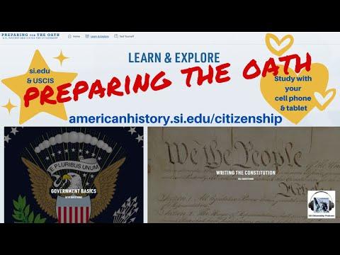 UPDATE: Preparing the Oath!