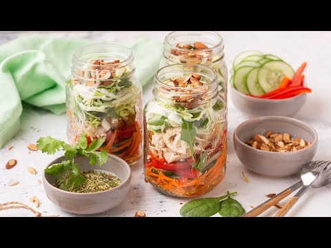 [FR] Salade Jar aux Saveurs Asiatiques / Salad Jar - Asian Twist - CookingWithAlia - Episode 733 - UCB8yzUOYzM30kGjwc97_Fvw