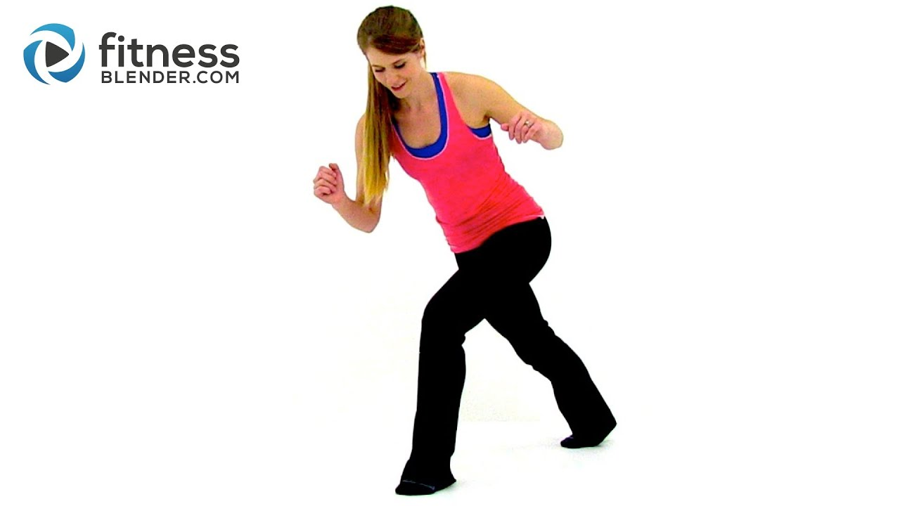 Quiet Cardio Workout – Low Impact No Bounce Recovery Cardio Workout