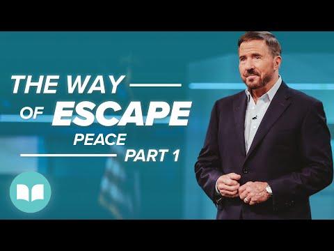 The Way of Escape, Peace, Part 1  Mac Hammond