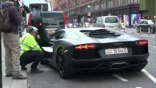 Police STOPS LAMBO AVENTADORS x2 and get IMPOUNDED!