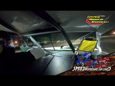 #68 Dean Wille - A Mod - 6-19-2021 Central Missouri Speedway - In Car Camera - dirt track racing video image