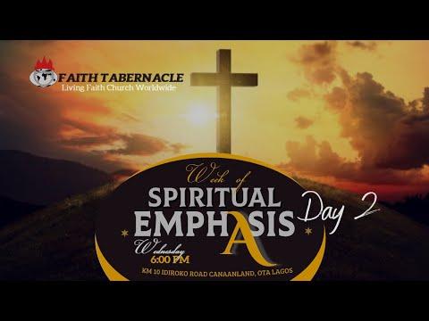 DOMI STREAM: DAY 2  WEEK OF SPIRITUAL EMPHASIS  8, OCTOBER  2020