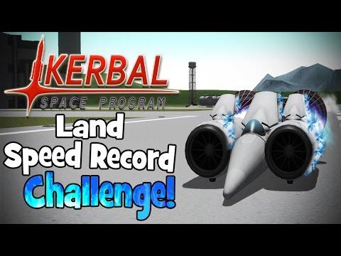 Kerbal Space Program! | Land Speed Record Challenge! (763+ MPH) - UC7j9yP0xYknSjzHWrlTV9Yg