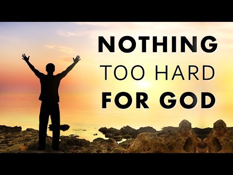 NOTHING TOO HARD FOR GOD - JOIN PASTOR SEAN LIVE SUNDAY 5pm PST/6pm MST/7pm CST/8pm EST