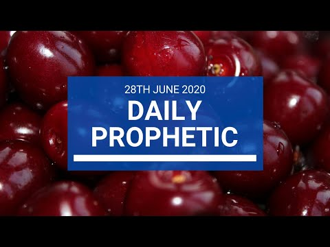 Daily Prophetic 28 June 2020 1 of 7