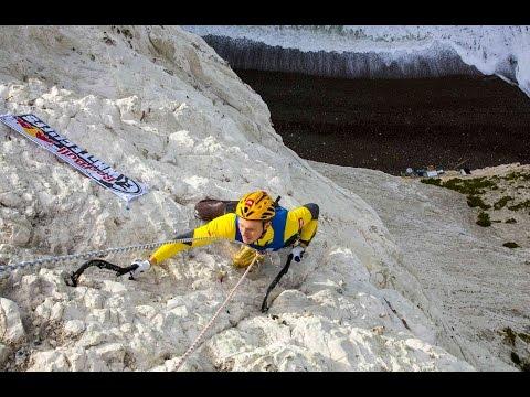 Climbing Vertical Chalk Cliffs with Ice Axes - UCblfuW_4rakIf2h6aqANefA