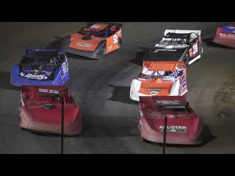 Late Model A-Feature at Crystal Motor Speedway, Michigan on 09-18-2021!! - dirt track racing video image