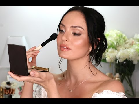 My Wedding Makeup! A Bridal Tutorial \\ Chloe Morello - UCLFW3EKD2My9swWH4eTLaYw