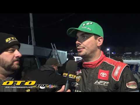 Stewart Friesen   Eastern States 100 Winner   10/23/21 - dirt track racing video image