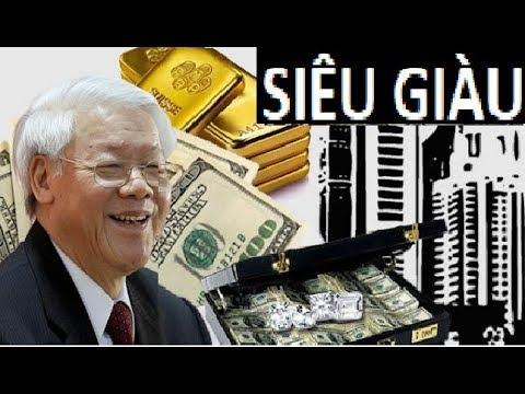 Tiết lộ động trời về khối tài sản kếch xù của Nguyễn Phú Trọng