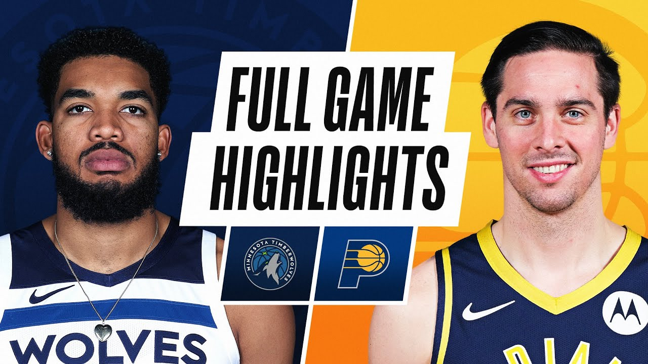 TIMBERWOLVES at PACERS | FULL GAME HIGHLIGHTS | April 7, 2021