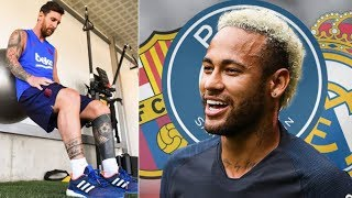 Barcelona News Round-up ft Lionel Messi's Injury Recovery & Neymar Transfer Latest