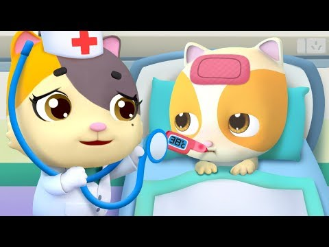 No No Go to the Doctor | Doctor Cartoon | Kids Songs | Nursery Rhymes | Kids Cartoon | BabyBus - UCpYye8D5fFMUPf9nSfgd4bA